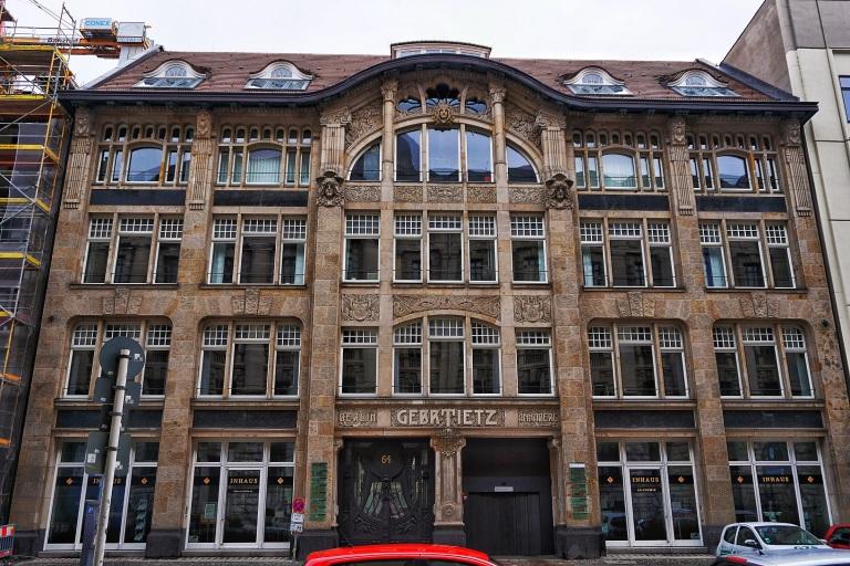 Berlin Art Nouveau Gebrueder Tietz 6