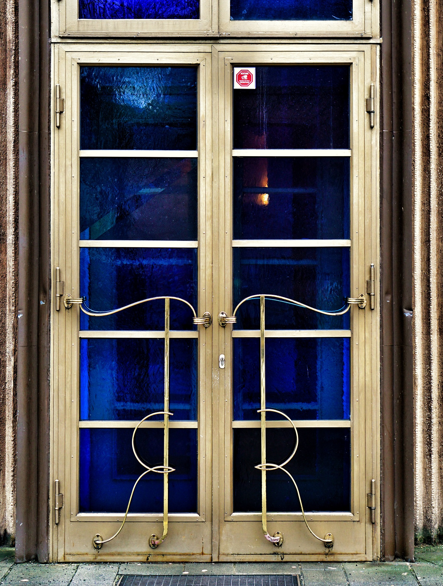 Art Deco door - close & Art Deco in Berlin u2013 Renaissance Theater u2013 See in Berlin