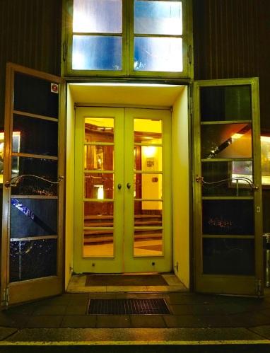 Berlin Renaissance Theater door open