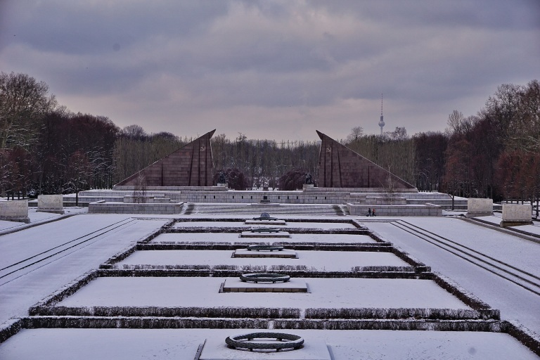 Berlin Soviet  War Memorial panorama