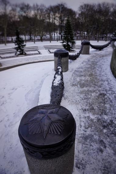 Berlin Soviet War Memorial star