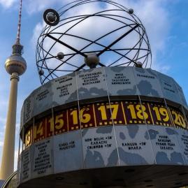 Berlin, Alexanderplatz - World Clock