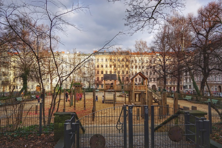 Berlin Bergmankiez playground