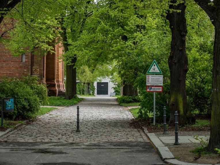 Michaelkirchplatz in Berlin-Mitte