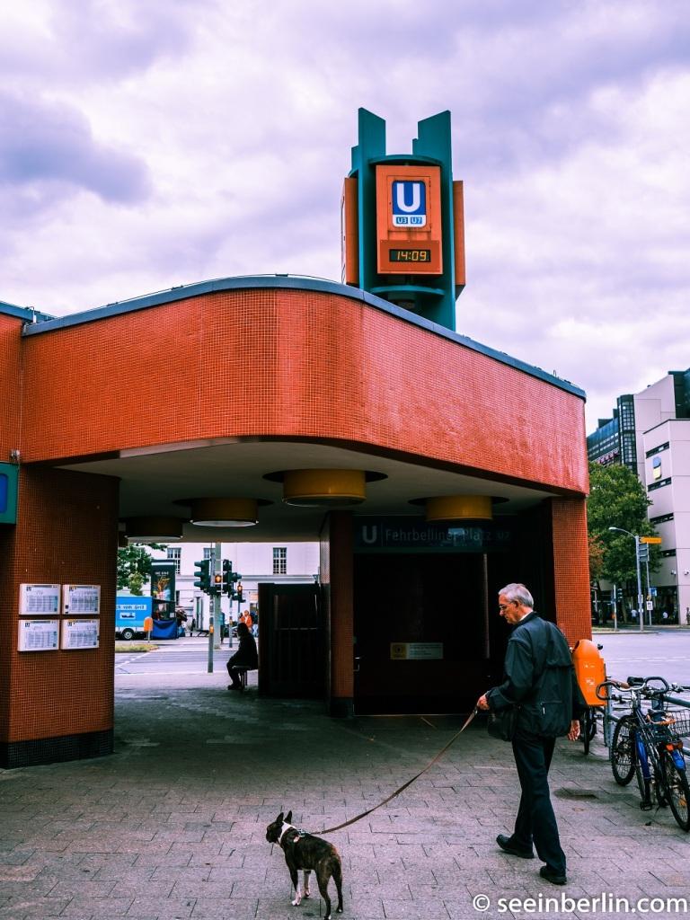 Fehrbelliner Platz Ubahn Station