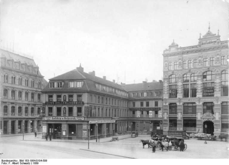 Berlin, Hausvogteiplatz
