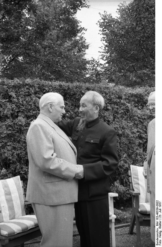 Berlin, Besuch Ho Chi Minh bei Wilhelm Pieck