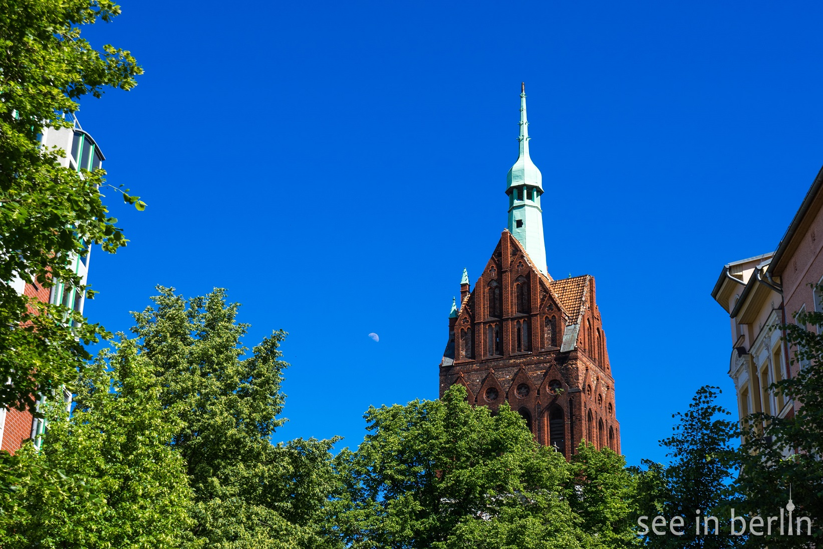 Bethanienturm (the Tower of Bethanienkirche)